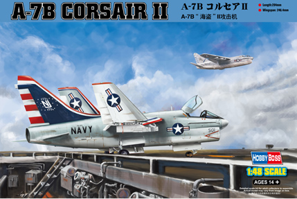 A-7B Corsair II from Hobby Boss