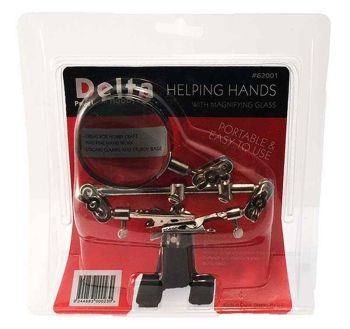 Helping Hands & Magnifying Glass
