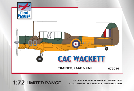 RAAF CAC Wackett Trainer