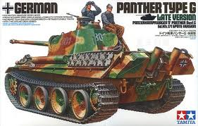 German Panther Type G Late Version