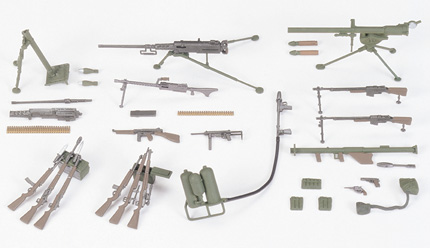 US Infantry Weapons Set