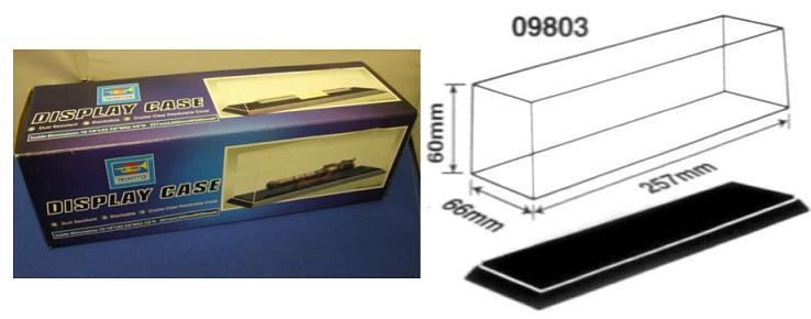 Display Case 257 x 66 x 60mm