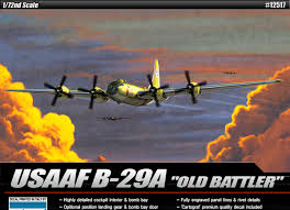 USAAF B-29 'Old battler'