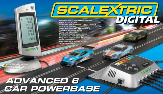 Digital Advanced 6 Car Powerbase