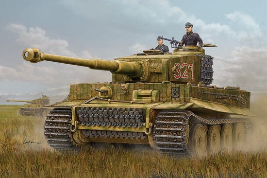 Tiger 1 from Hobby Boss