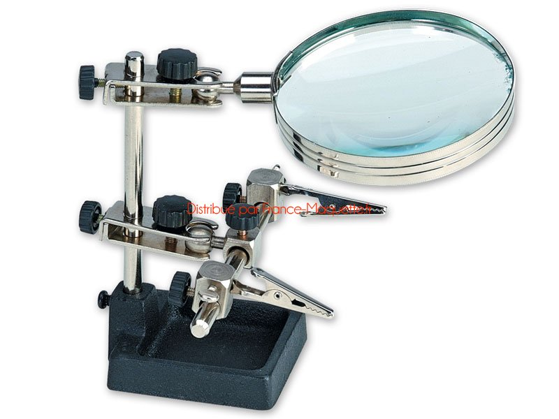 Helping Hands & Large Magnifying Glass