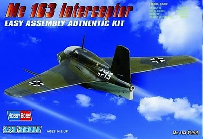 Messerschmitt Me 163 Fighter from Hobby Boss