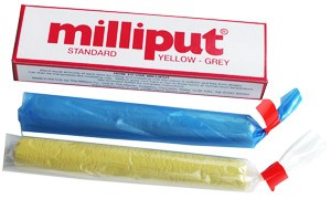 Milliput Standard ( Yellow-Grey )