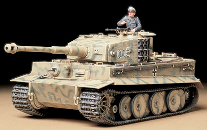 Tiger I Tank Mid Production
