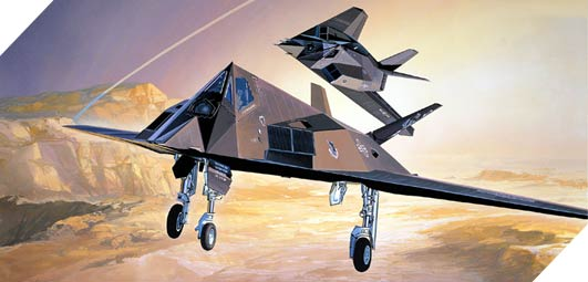 F-117A Stealth Bomber