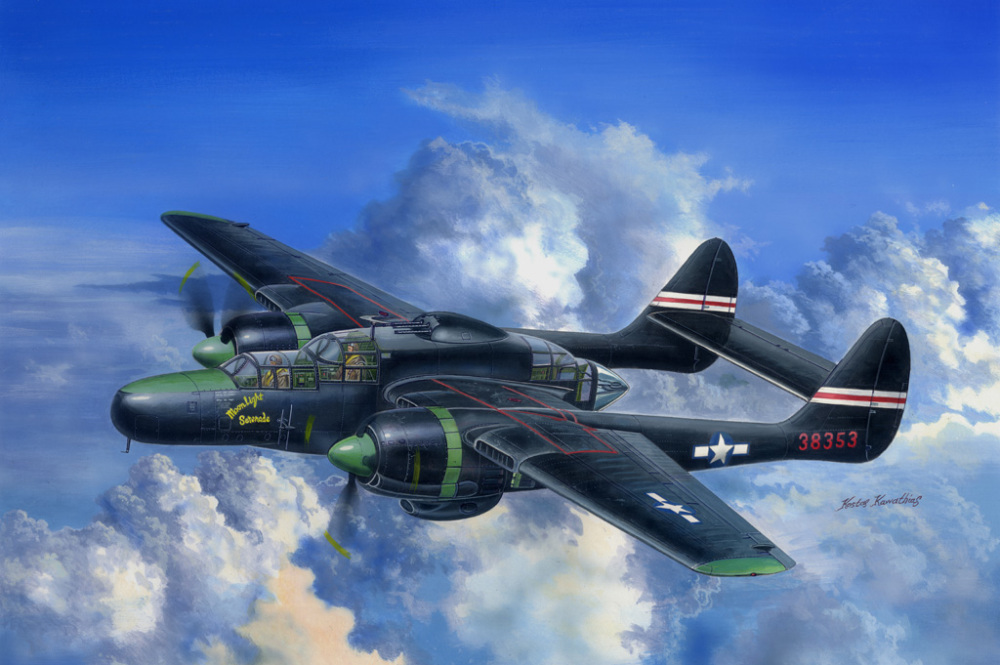 Black Widow P-61C