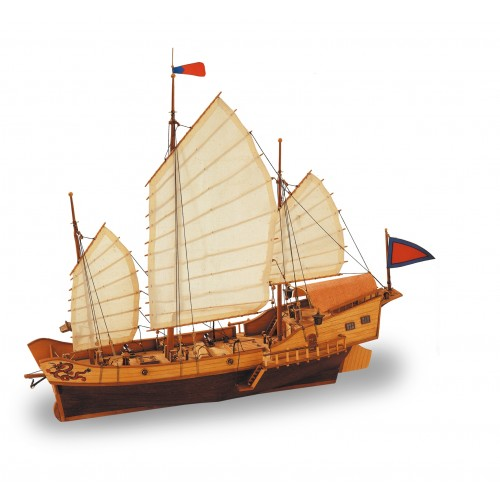RED DRAGON Wooden Ship Kit