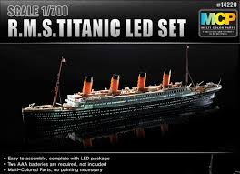 RMS Titanic With LED Light Set