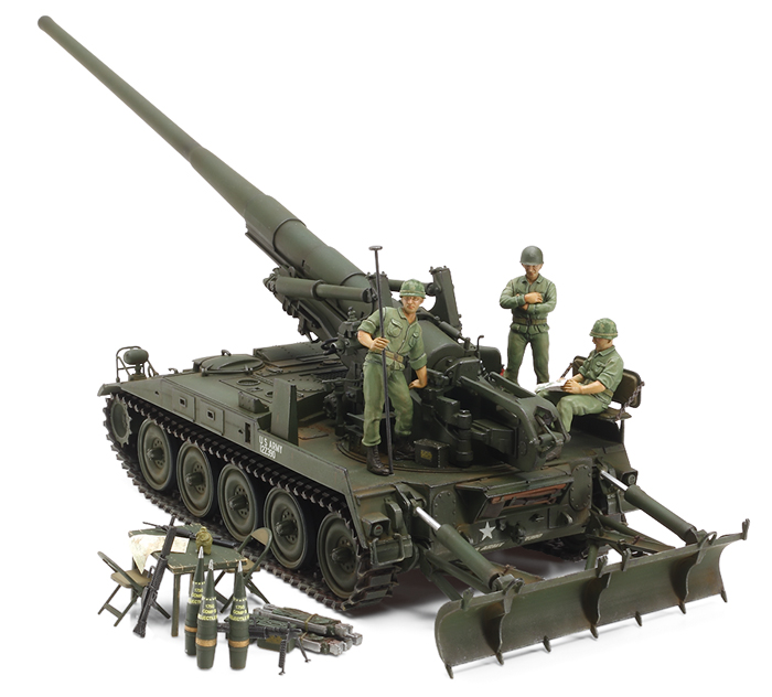 U.S. Self-Propelled Gun M107