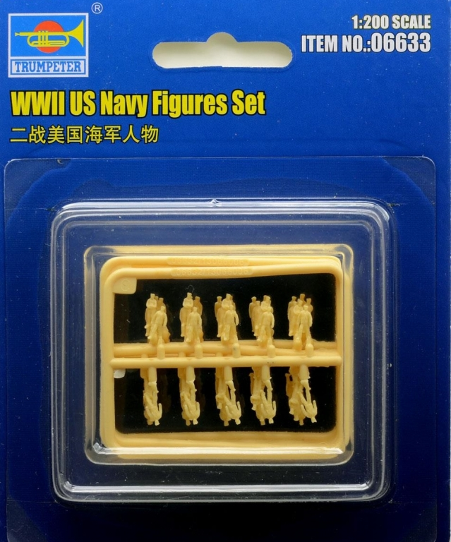 US Navy Figures Set 1/200