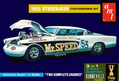 "1953 STUDEBAKER STARLINER ""MR SPEED"""