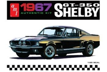 1967 Ford Shelby GT350 (Black) From AMT