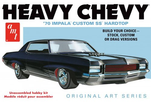 1970 Chevy Impala (Heavy Chevy) Original Art Series
