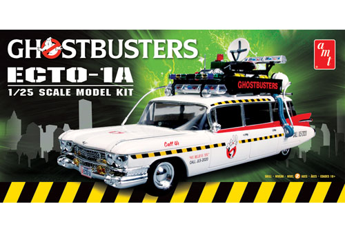 Ghostbusters Ecto-1A From AMT