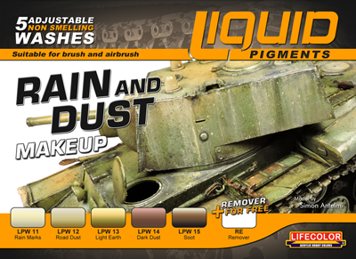 Liquid Pigments Rain & Dust