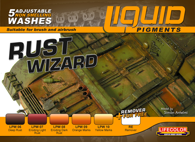 Liquid Pigments Rust Wizard