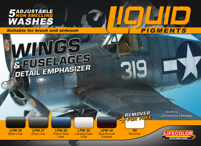Liquid Pigments Wings & Fuselage
