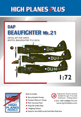 DAP Beaufighter Mk 21 Detail Set