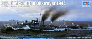 HMCS Huron 1944 with RAN Decals