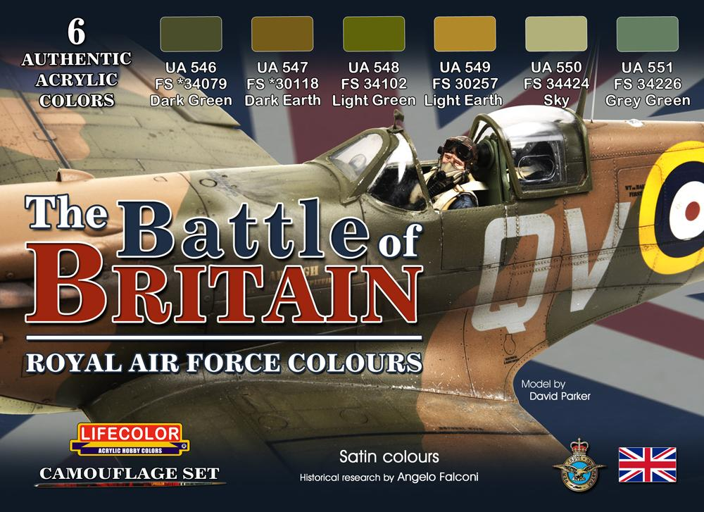 Battle Of Britain Paint Set