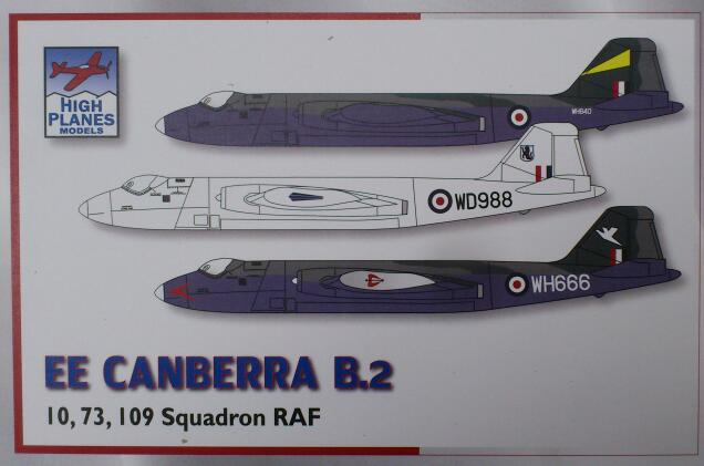 English Electric Canberra B2