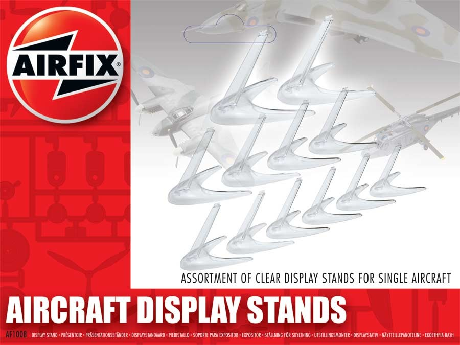 Aircraft Display Stand Assortment