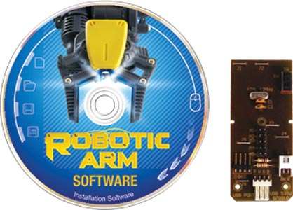 Robotic Arm USB Interface and Software Kit