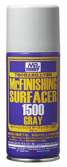 MR. FINISNING SURFACER 1500 GRAY
