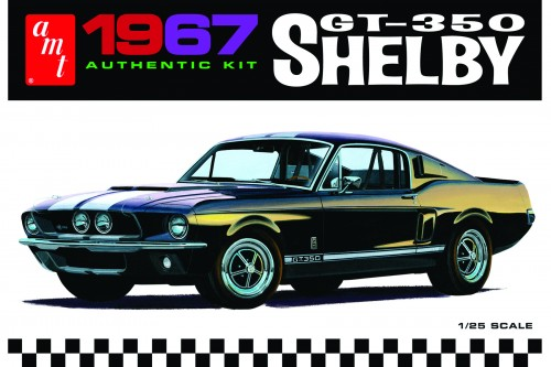 1967 Shelby GT350 – White From AMT