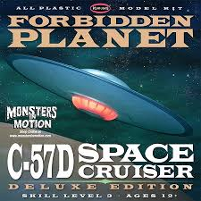 Forbidden Planet C-57D Space Cruiser