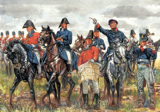 WATERLOO (200years) BRITISH & PRUSSIAN GEN.ST
