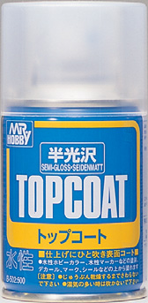 MR TOP COAT SEMI-GLOSS