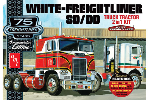 White Freightliner 2-in-1 SC/DD Cabover Tractor (75th Anniversary)
