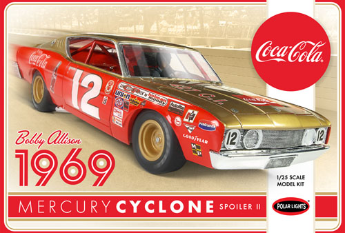 Bobby Allison 1969 Coca Cola Mercury Cyclone