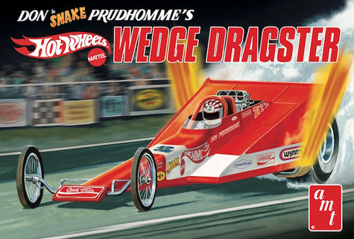 "Coca-Cola Don ""Snake"" Prudhomme Wedge Dragster (Hot Wheels)"