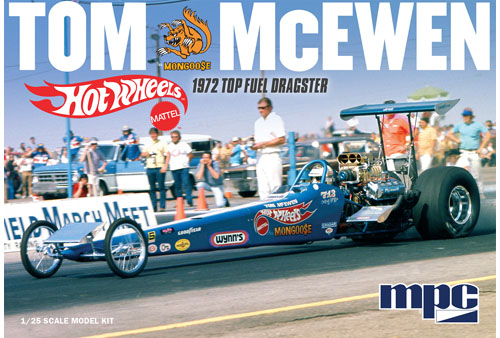 "Tom ""Mongoose"" McEwen 1972 Rear Engine Dragster (Hot Wheels)"