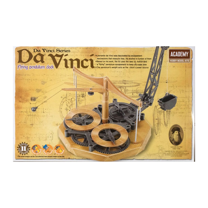 Da Vinci Flying Pendulum Clock