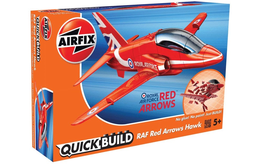 QUICK BUILD RAF Red Arrows Hawk