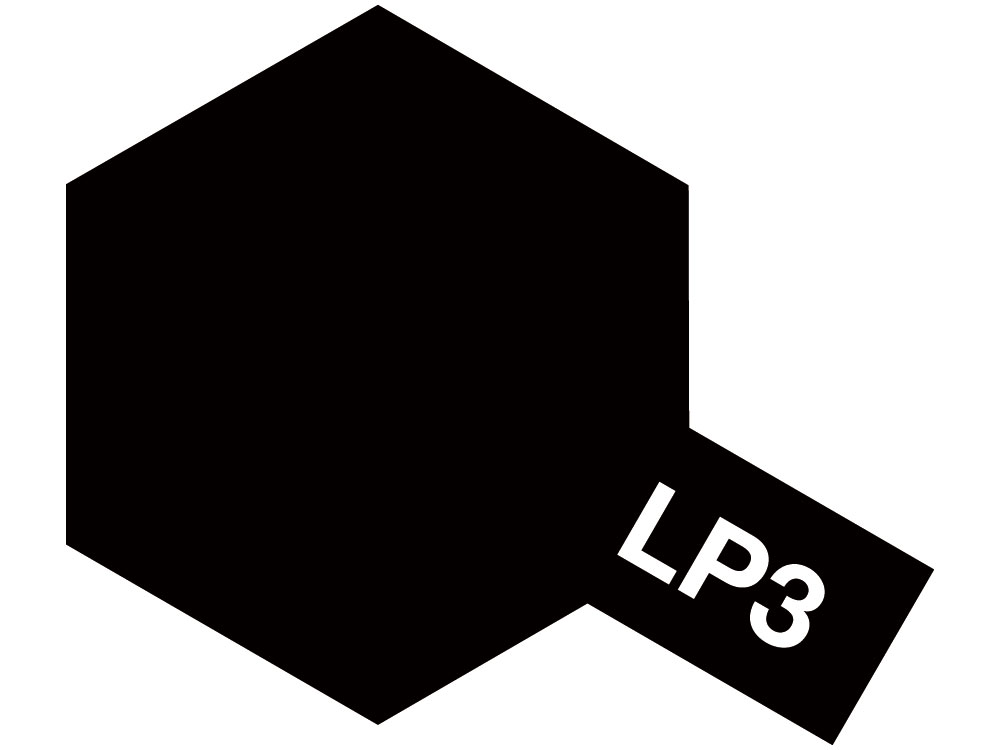 Lacquer Paint LP-3 Flat black