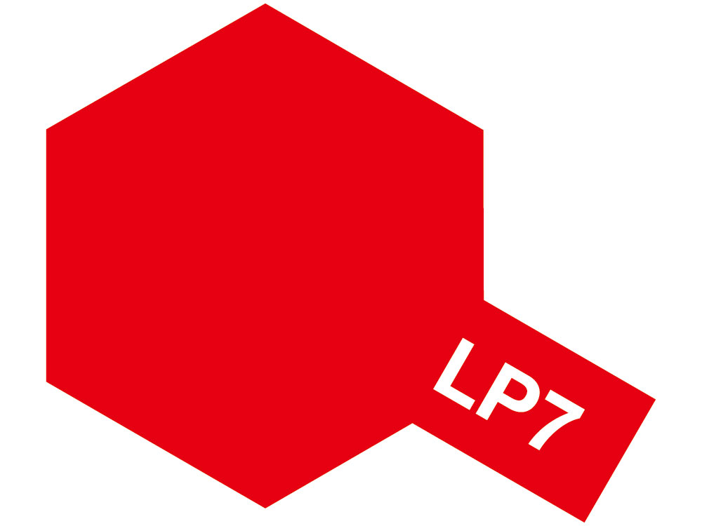 Lacquer Paint LP-7 Pure red