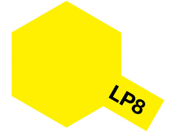 Lacquer Paint LP-8 Pure yellow