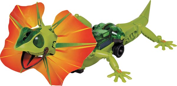 Frilled Lizard Robot Kit
