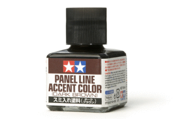Panel line accent color ( Dark Brown )