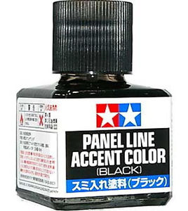 Panel line accent color ( Black )