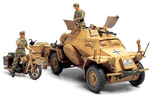 German Armoured Car KFZ222